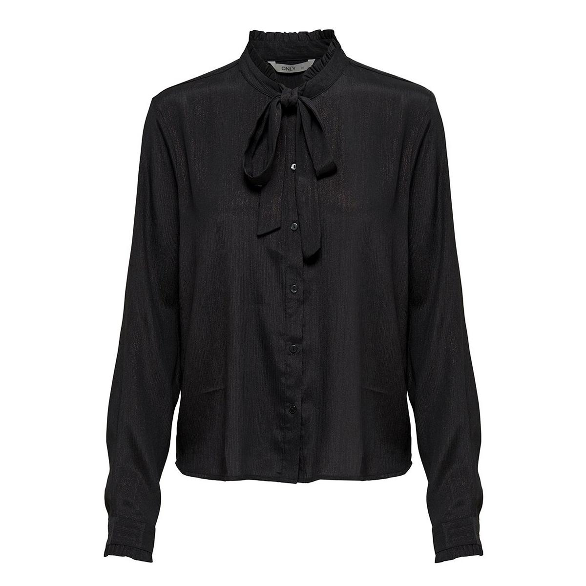 onlpalencia ls shirt wvn 15164776 only blouse black