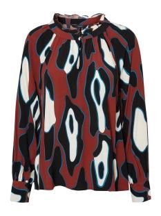 Vero Moda Blouse VMISLA L/S TOP FD18 10214917 Henna/LEONORA