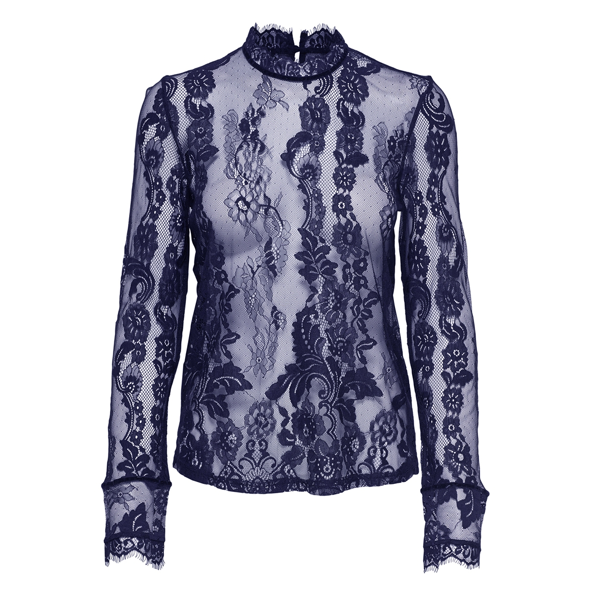 onlgranada lace ls top wvn 15165407 only t-shirt blueprint