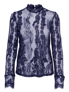 Only T-shirt onlGRANADA LACE LS TOP WVN 15165407 Blueprint