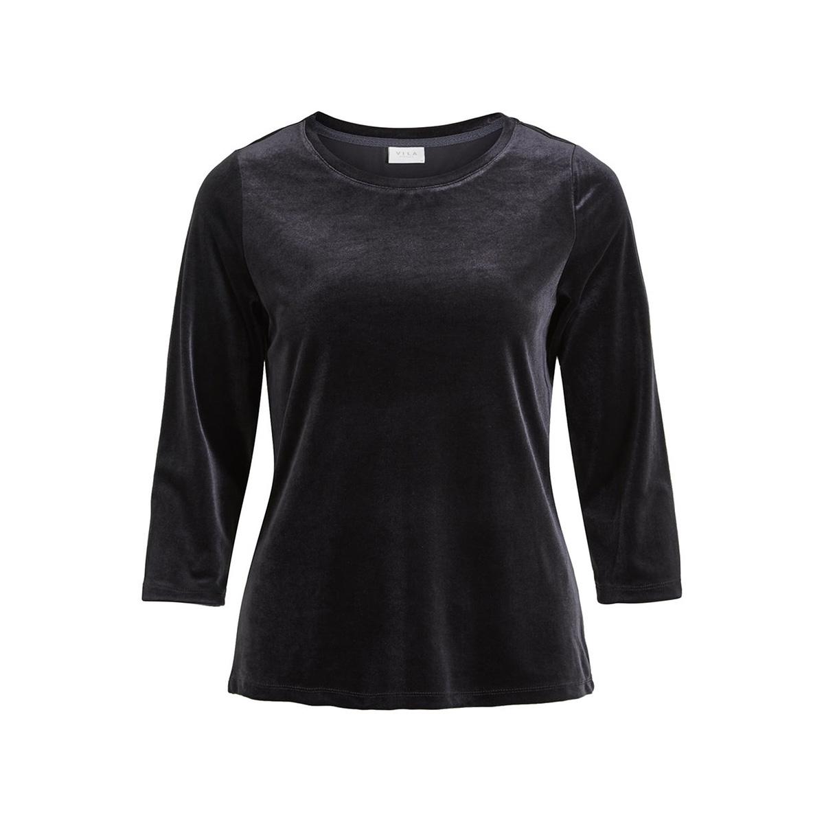 visienna 3/4 top 14050458 vila t-shirt black
