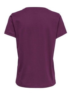 onlkita s/s gold top box jrs 15168494 only t-shirt purple potion/kind1