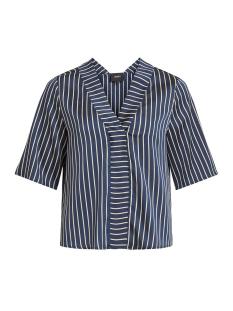 Object T-shirt OBJCOLOTTA ANZU 2/4 TOP A AU 23028832 Sky Captain/W. GOLD
