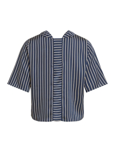 objcolotta anzu 2/4 top a au 23028832 object t-shirt sky captain/w. gold