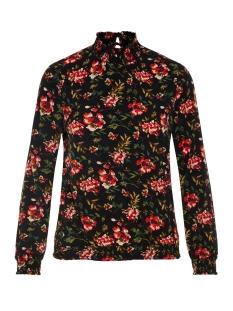 Vero Moda Blouse VMVENICE L/S SMOCK TOP EXP 10210586 Black/FLOWER