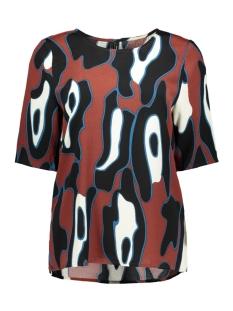 Vero Moda T-shirt VMISLA BOCA 2/4 TOP FD18 10214918 Henna/LEONORA
