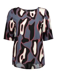 Vero Moda T-shirt VMISLA BOCA 2/4 TOP FD18 10214918 Ombre Blue/LEONORA