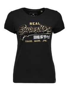 Superdry T-shirt G10922YR BLACK
