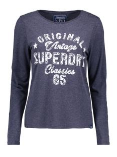 Superdry T-shirt G60555BR INDIGO BLUE E52
