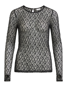 Vila T-shirt VIRIER L/ S TOP 14050940 Black