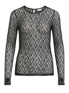 virier l/ s top 14050940 vila t-shirt black