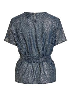 objhollie s/s top a wi 23029438 object t-shirt sky captain/gold foil
