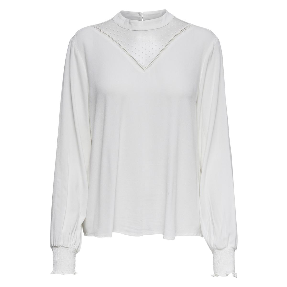 onlnaomi ls top wvn 15167177 only blouse cloud dancer