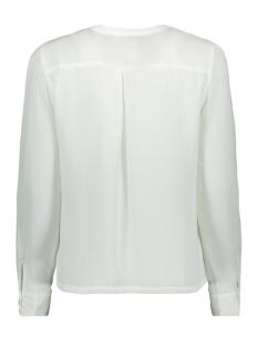 onlalicante pleat flounce shirt wvn 15165078 only blouse cloud dancer