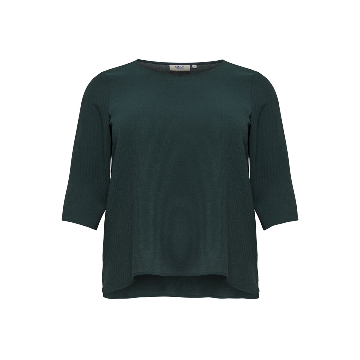 carlux cecilia 3/4 top solid 15170871 only carmakoma t-shirt green gables