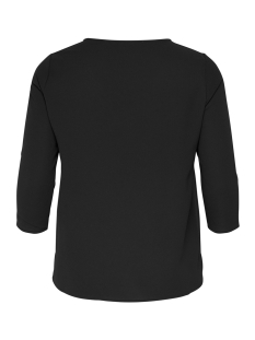 carlux cecilia 3/4 top solid 15170871 only carmakoma t-shirt black