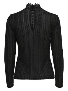 jdymynte l/s top 15168611 jacqueline de yong t-shirt black/dtm button