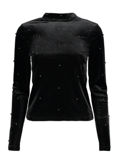 Only Trui onlARINA L/S BEADS BLOUSE PNT 15166056 Black