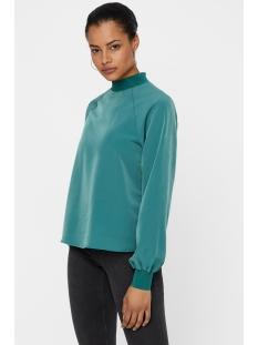 nmjulie l/s top x1 27006387 noisy may blouse mallard green