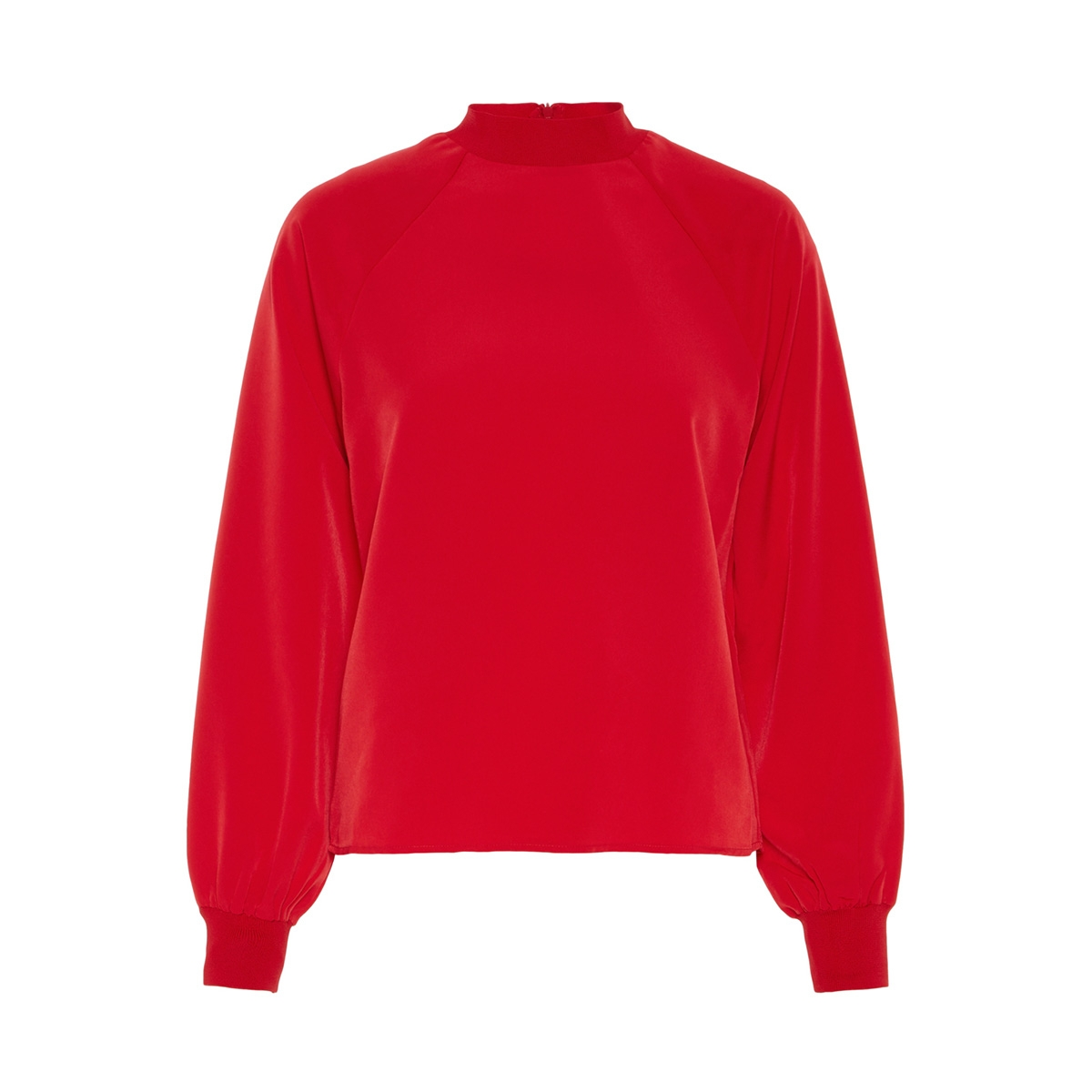nmjulie l/s top x1 27006387 noisy may blouse chinese red
