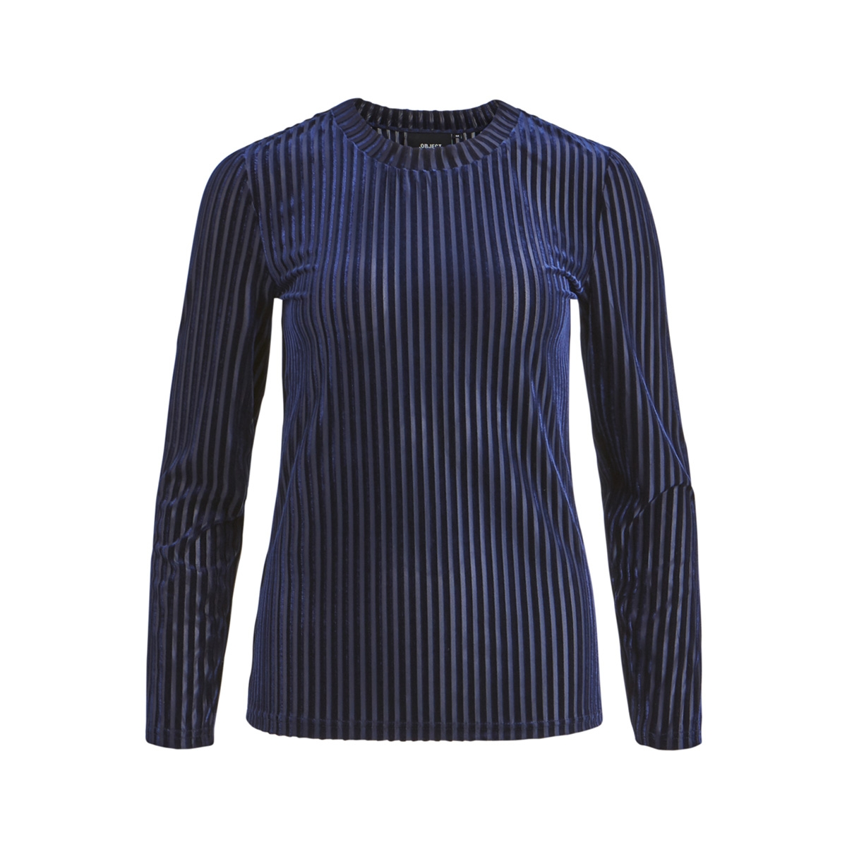 objbelia l/s fitted top a au 23028835 object t-shirt sky captain