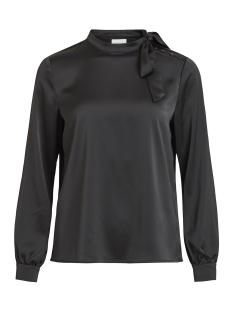 vimilena l/s top 14049914 vila blouse black