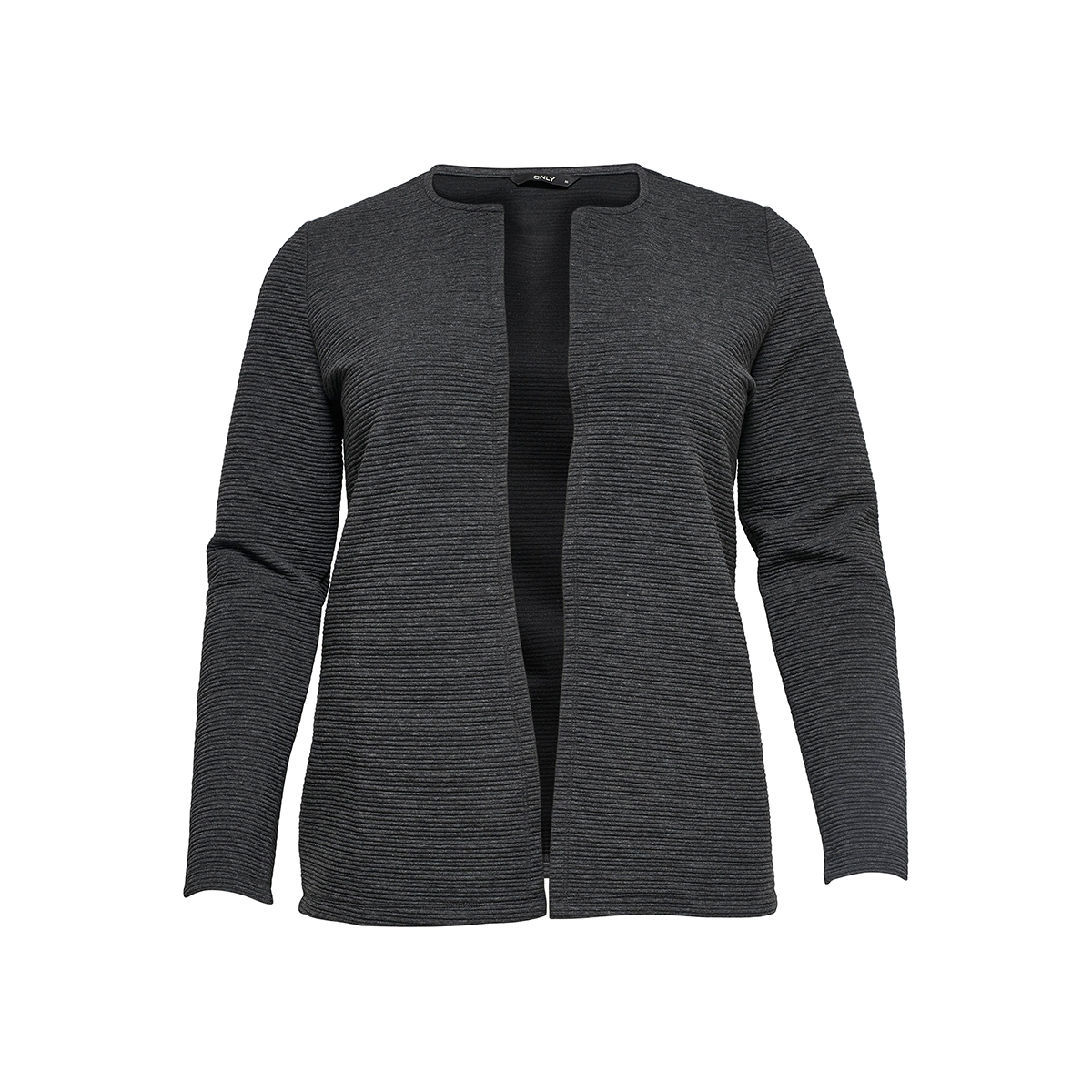 carsky 7/8 cardigan 15164406 only carmakoma vest dark grey melange