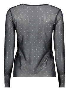 onlstine l/s o-neck top jrs 15168137 only t-shirt night sky/silver foi