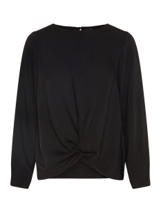 Vero Moda Blouse VMSTANLY KNOT L/S TOP EXP 10210477 Black/SOLID