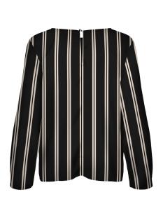 vmstanly knot l/s top exp 10210477 vero moda blouse black/eggnog