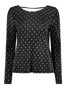 onlaisha l/s aop top jrs 15168780 only t-shirt black/silver foil