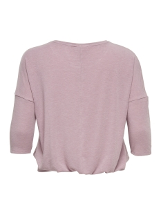 carmille pleated 3/4 top 15171653 only carmakoma sweater misty rose