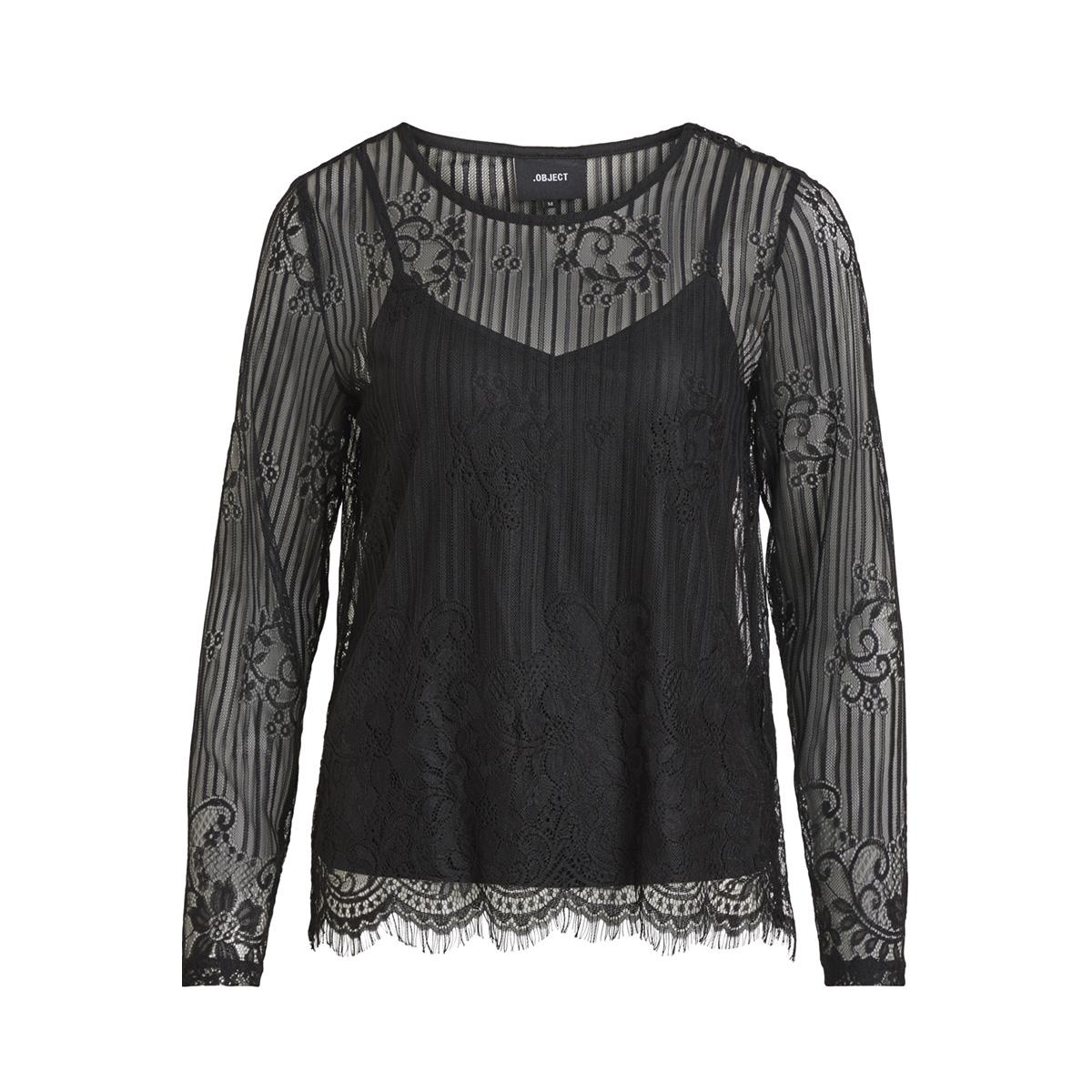 objmelly l/s top pb5 23028364 object t-shirt black