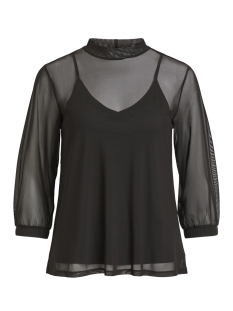 Vila T-shirt VILASTRA 3/4 T-SHIRT/PB 14049881 Black/SOLID