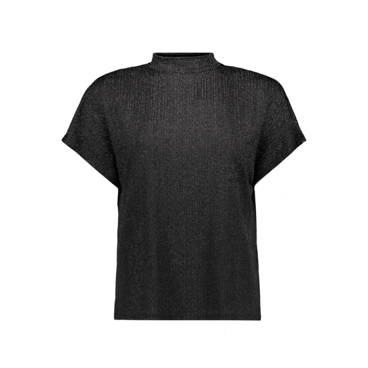 jdylura s/s top jrs 15163066 jacqueline de yong t-shirt black/lurex