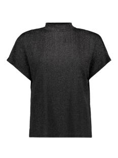 Jacqueline de Yong T-shirt JDYLURA S/S TOP JRS 15163066 Black/LUREX