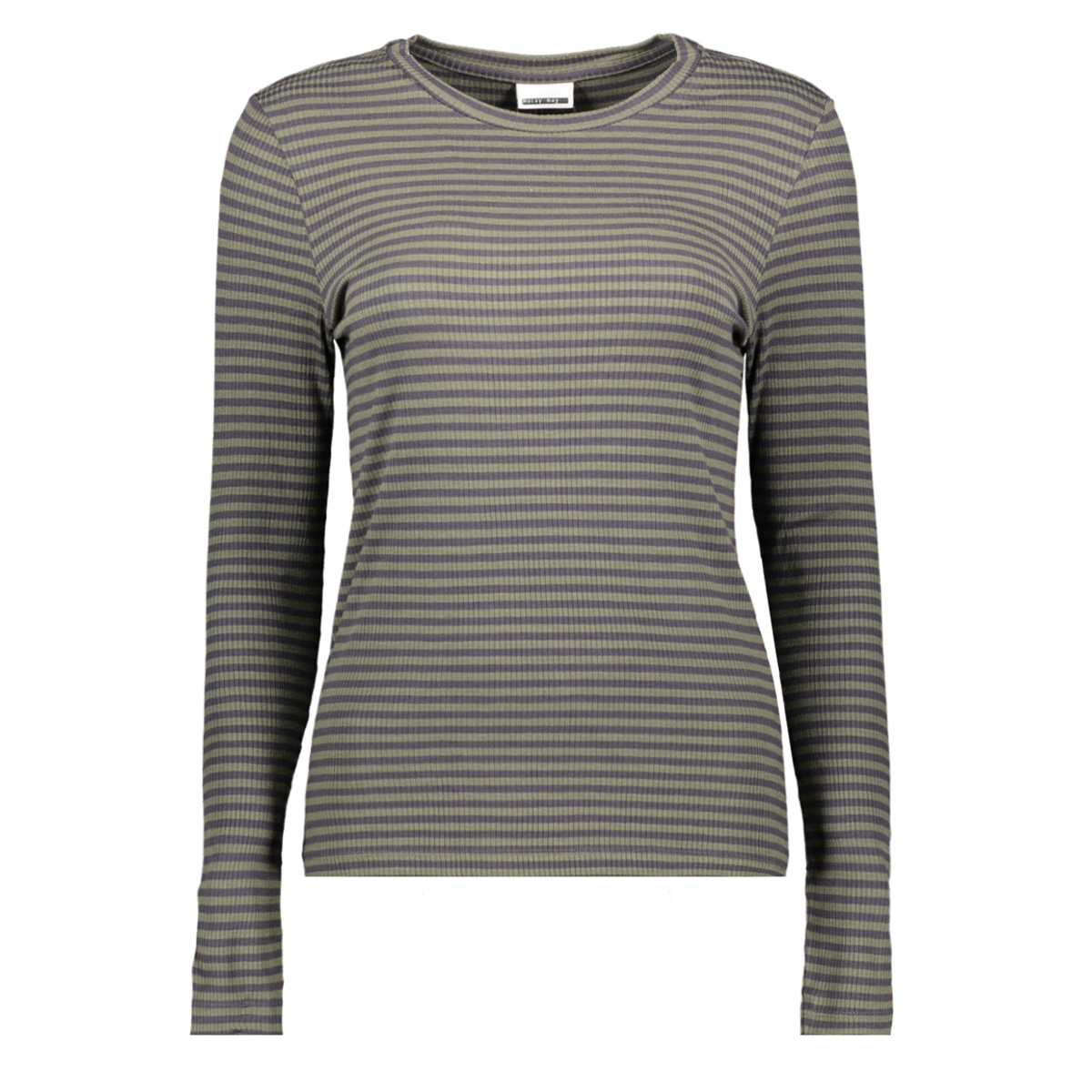 nmelse l/s top 8b 27004897 noisy may trui olive night/obsidian