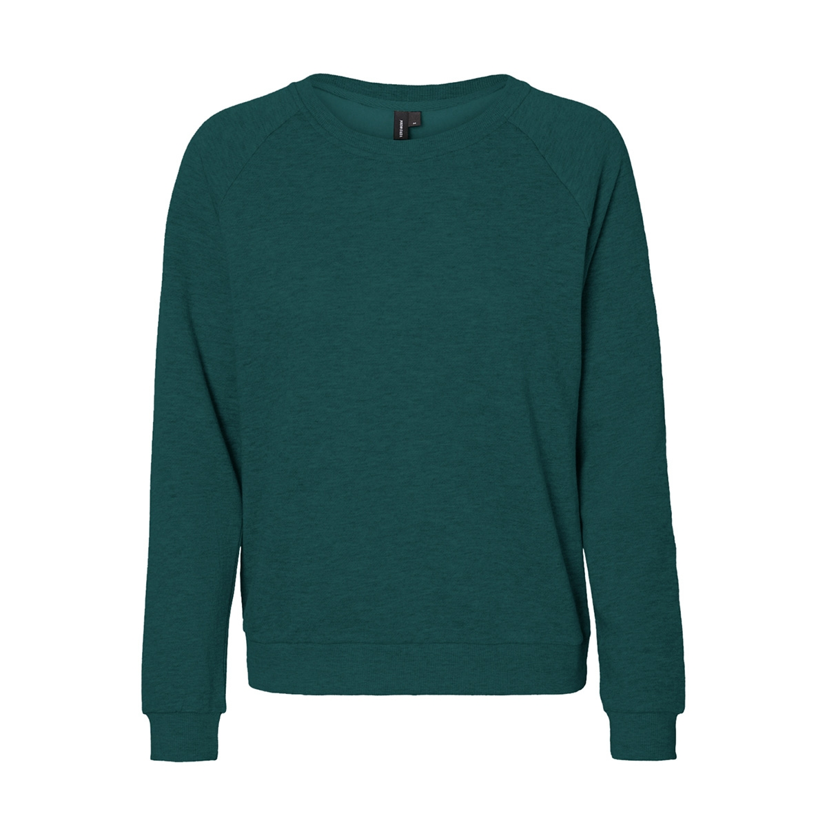 vmnatalia l/s sweat o18 10212545 vero moda sweater ponderosa pine