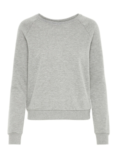 Vero Moda sweater VMNATALIA L/S SWEAT O18 10212545 Light Grey Melange