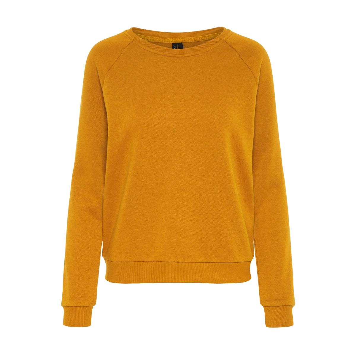 vmnatalia l/s sweat o18 10212545 vero moda sweater thai curry