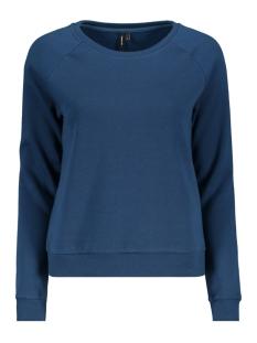 Vero Moda sweater VMNATALIA L/S SWEAT O18 10212545 Gibraltar Sea