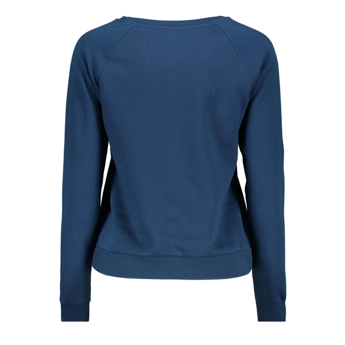 vmnatalia l/s sweat o18 10212545 vero moda sweater gibraltar sea