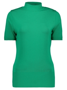 Zoso T-shirt Marnix Short Sleeve Rollneck GREEN