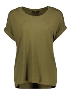 onlmoster s/s o-neck top noos jrs 15106662 only t-shirt dark olive