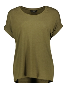 Only T-shirt onlMOSTER S/S O-NECK TOP NOOS JRS 15106662 Dark Olive