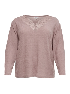 Only Carmakoma Trui carMARY LS TOP 15172185 Misty Rose