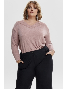 carmary ls top 15172185 only carmakoma trui misty rose