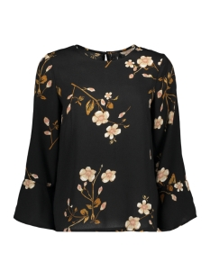 Vero Moda Blouse VMCALLIE 7/8 BELL TOP EXP 10216674 Black/CALLIE