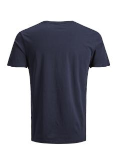 jcokate tee ss crew neck 12156798 jack & jones t-shirt sky captain/jj. reg