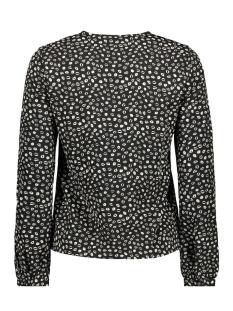vmkiss l/s  v-neck midi top d2-1 wv 10209634 vero moda t-shirt black/kiss black